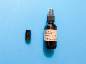 Basil & Bergamot Smudge Spray