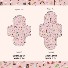 Load image into Gallery viewer, Washable Cloth Pads