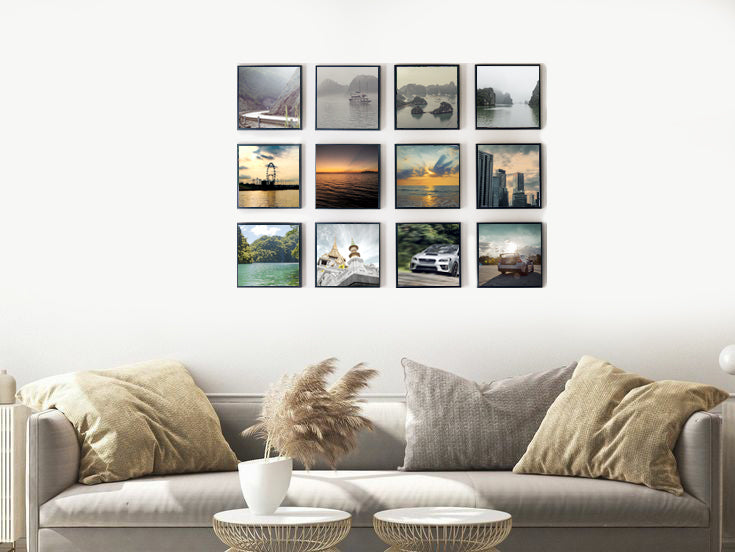 "8"" x 8"" Picture Tiles (Set of 3)"