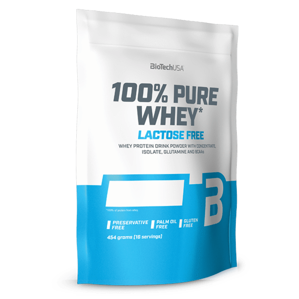 100% Pure Whey Lactose-free  - 454 g