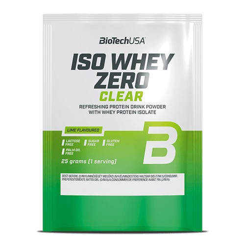 Iso Whey Zero Clear - 25 g lime - BioTechUSA