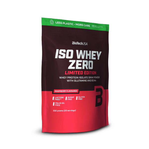 Iso Whey Zero lampone (limited edition) - 500 g