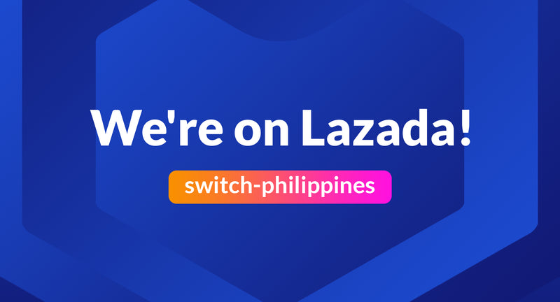 Switch is now on Lazada