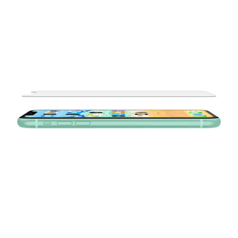 Belkin Tempered Glass for iPhone 11 and X Series Tray Clear