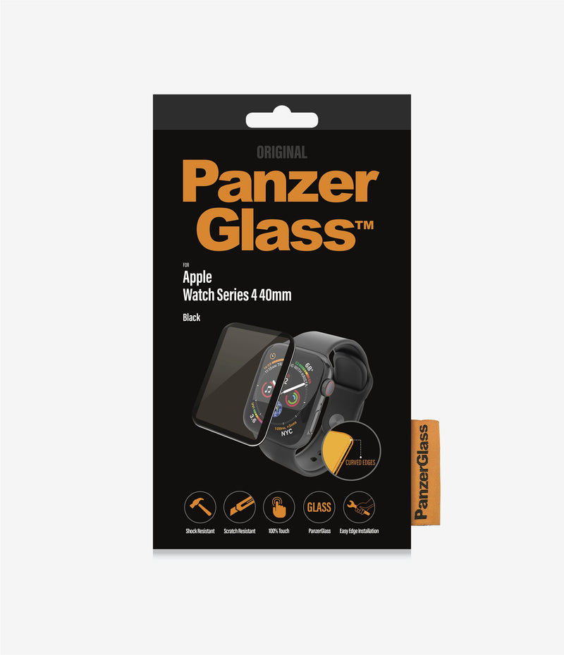PanzerGlass Screen Protector for Apple Watch Series 4/5/6/SE 40mm