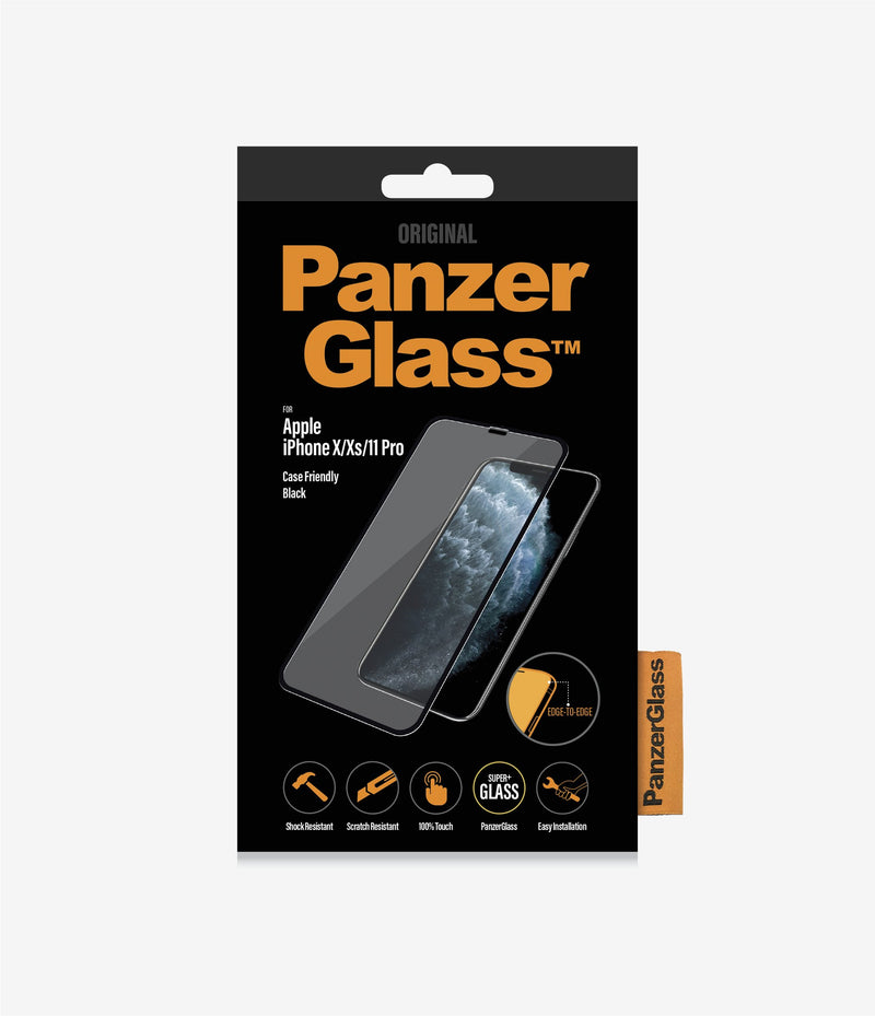 PanzerGlass Case Friendly Tempered Glass for iPhone 11 Pro