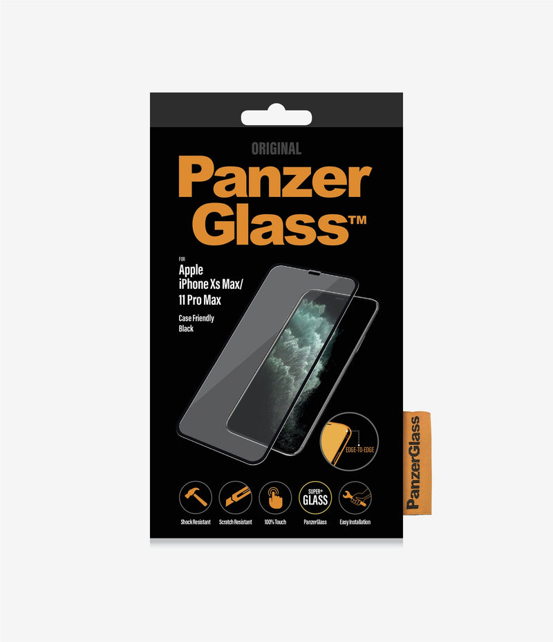 PanzerGlass Case Friendly Tempered Glass for iPhone 11 Pro Max