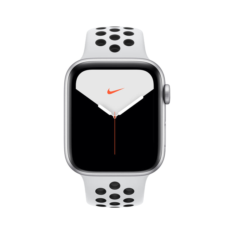 Apple Watch Nike Series 5 - Silver Aluminum Case with Nike Sport Band