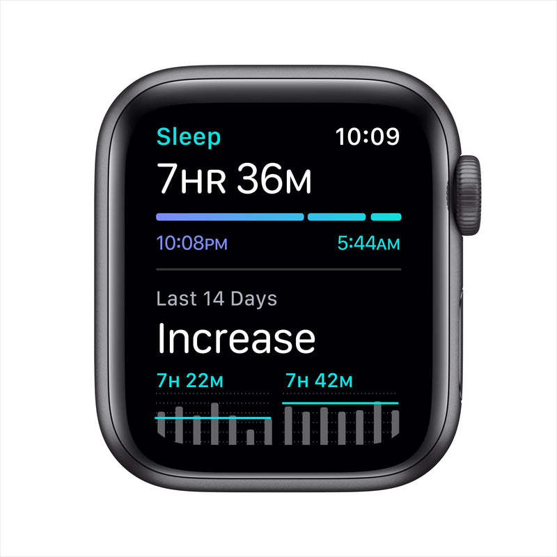 Apple Watch Nike SE GPS - Space Gray Aluminum Case with Anthracite/Black Nike Sport Band