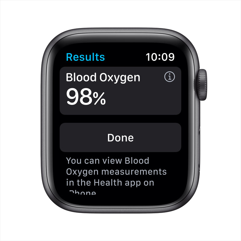 Apple Watch Nike Series 6 GPS - Space Gray Aluminum Case with Anthracite/Black Nike Sport Band