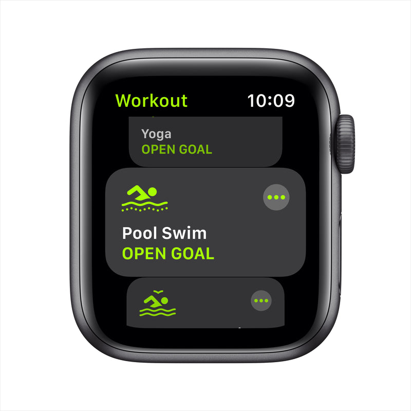 Apple Watch SE GPS - Space Gray Aluminum Case with Black Sport Band