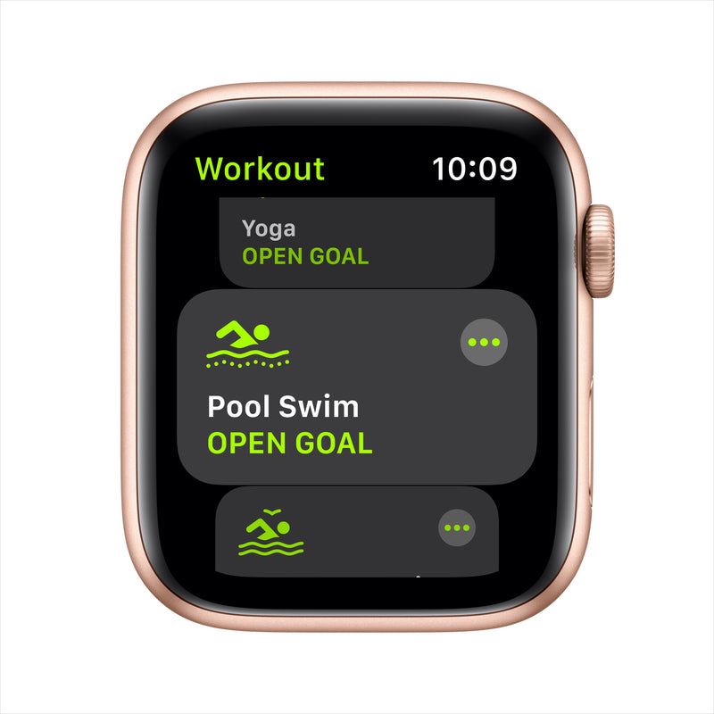 Apple Watch SE GPS - Gold Aluminum Case with Pink Sand Sport Band