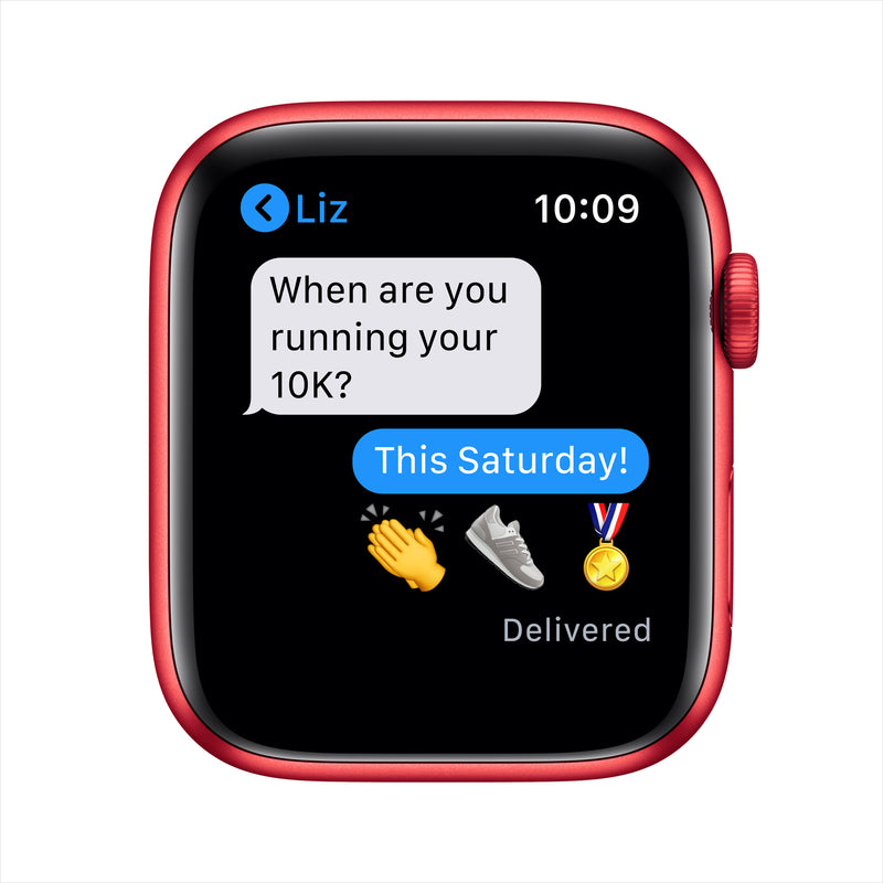 Apple Watch Series 6 GPS - PRODUCT(RED) Aluminium Case with PRODUCT(RED) Sport Band
