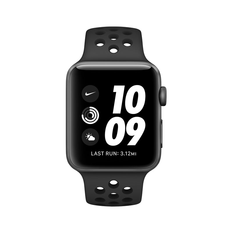 Apple Watch Nike Series 3 - Space Gray Aluminum Case with Anthracite/Black Nike Sport Band