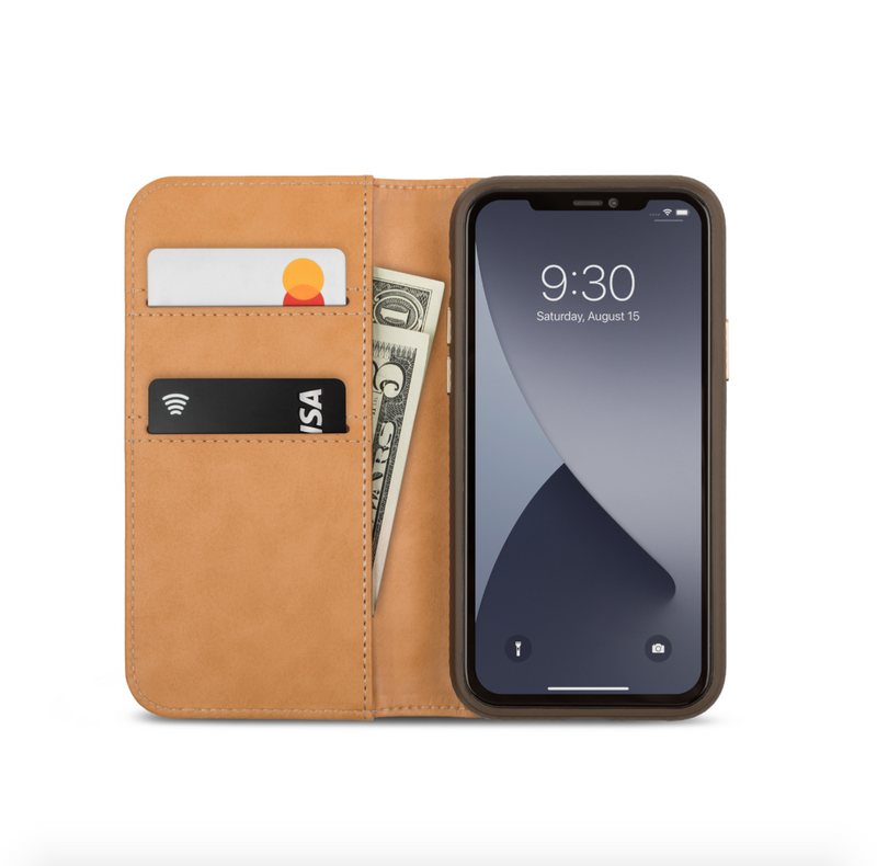 Moshi Overture Case with Detachable Magnetic Wallet for iPhone 12