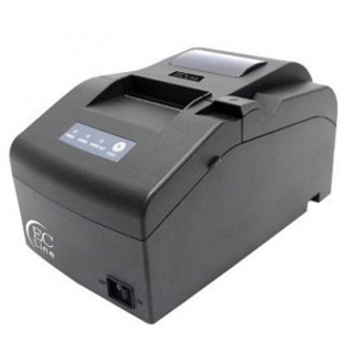 Impresora de Tickets (Mini Printer), Ancho 76 mm, Tipo de Impresión Matriz de Puntos, Alámbrica, USB, Color Negro, Cortador Manual, EC LINE EC-PM-530-USB