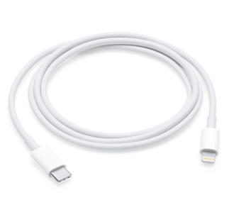 Cable USB-C (Tipo C) - Lightning, Longitud de 1 Metro, APPLE MK0X2AM/A