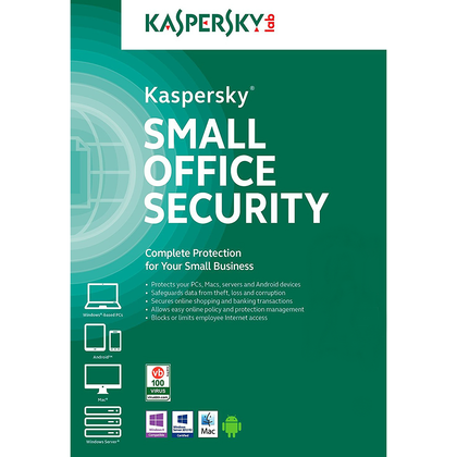 Small Office Security, Duración 1 Año, 5 Equipo(s), Multidispositivos,  KASPERSKY KL4533ZBEFS