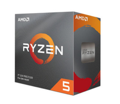 Procesador (CPU) Ryzen 5 3600, 3.6 GHz (hasta 4.2 GHz), Socket AM4, Six-Core, 65W, AMD 100-100000031BOX