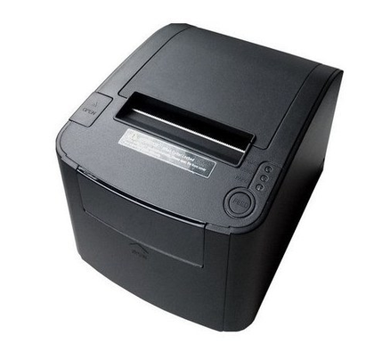 Impresora de Tickets (Mini Printer), Ancho 80 mm, Tipo de Impresión Térmica, Alámbrica, USB, Serial, Ethernet, Color Negro, Cortador Automático, EC LINE EC-PM-80330