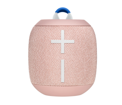 Bocina Portátil Modelo WonderBoom 2, Inalámbrica (Bluetooth), IP67, Recargable, Color Peach (Durazno), LOGITECH 984-001558