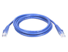Cable de Red (Patch Cord), Cat 5E, RJ45 - RJ45 (M-M), 0.5  Metros, Color Azul, INTELLINET 318129