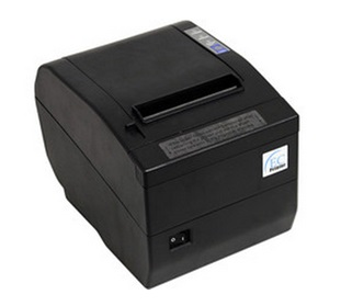 Impresora de Tickets (Mini Printer), Ancho 80 mm, Tipo de Impresión Térmica, Alámbrica, USB, Color Negro, Cortador Automatico, EC LINE EC-PM-80320-USB