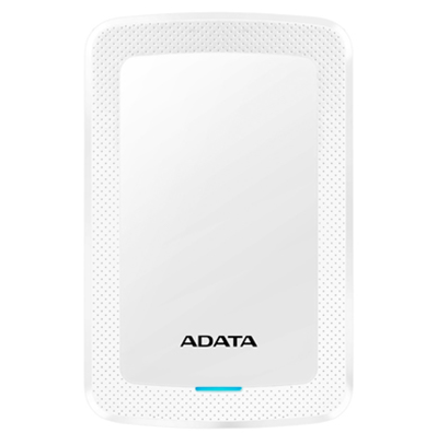 Disco Duro Externo HV300, Capacidad 1TB (1,000GB), Interfaz USB 3.1, Color Blanco, ADATA AHV300-1TU31-CWH