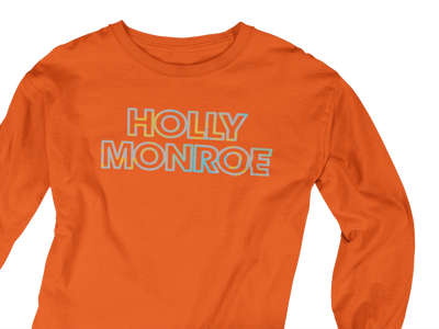 Holly Monroe Water Color LS T Shirt