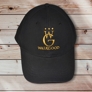 DAD HAT CAP (BLACK/GOLD)