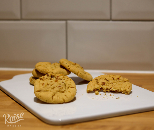 Apricot & Rosemary Cookies (Plant Based)