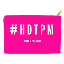 Load image into Gallery viewer, Hot Pink #HDTPM Accessory Pouches - Xóchitl Gift Shop