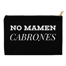 Load image into Gallery viewer, No Mamen Cabrones Accessory Pouches - Xóchitl Gift Shop
