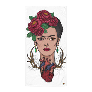 Frida Kahlo Towel - Xóchitl Gift Shop
