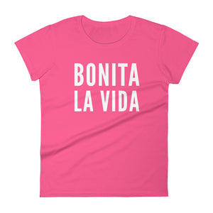 Bonita La Vida Women's short sleeve t-shirt - Xóchitl Gift Shop