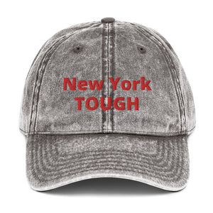 NY Tough Vintage Cotton Twill Cap