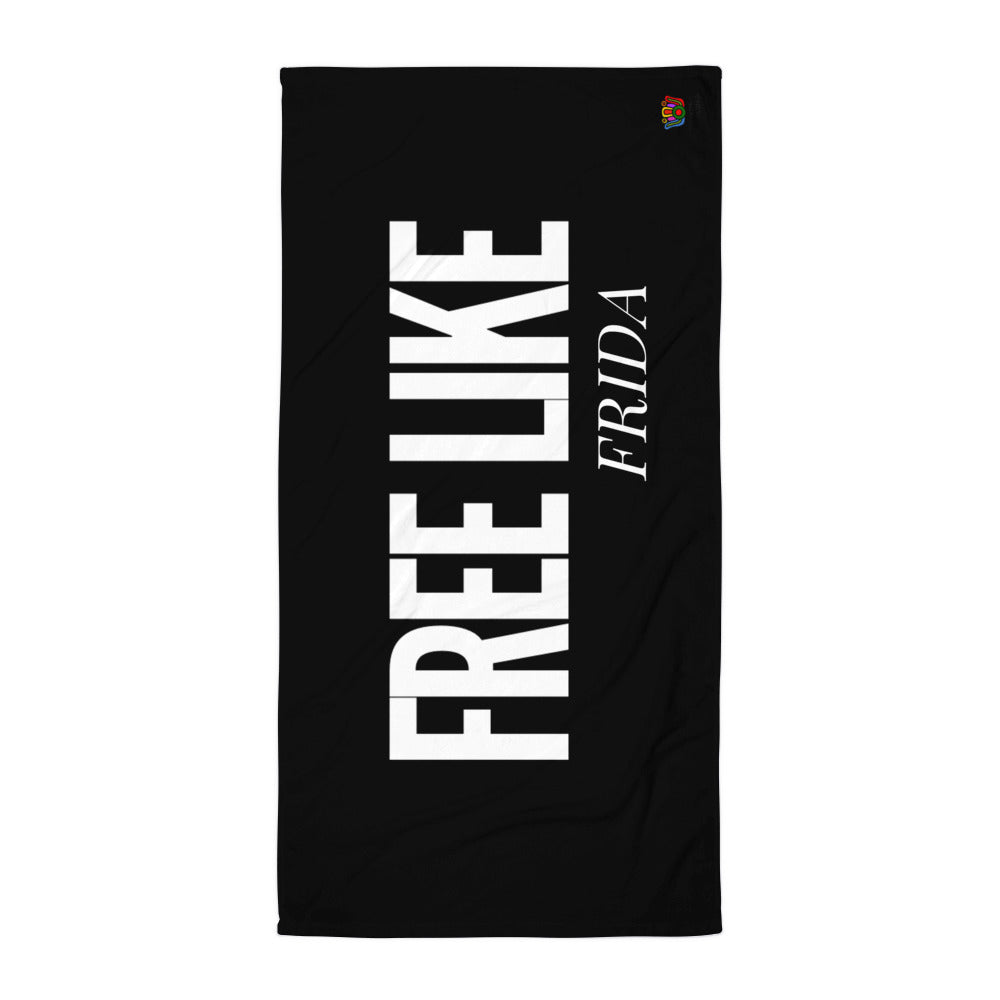 Free Like Frida Towel - Xóchitl Gift Shop