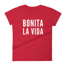 Load image into Gallery viewer, Bonita La Vida Women's short sleeve t-shirt - Xóchitl Gift Shop