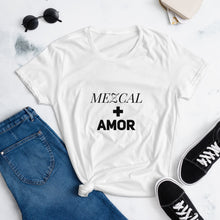 Load image into Gallery viewer, Mezcal + Amor Women's short sleeve t-shirt
