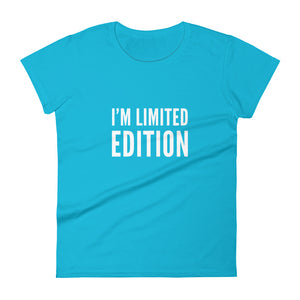 I'm limited edition Women's short sleeve t-shirt - Xóchitl Gift Shop