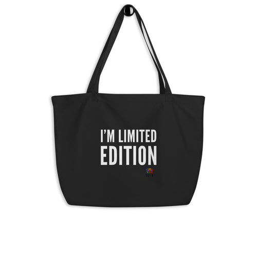 I'm Limited Edition Large organic tote bag - Xóchitl Gift Shop