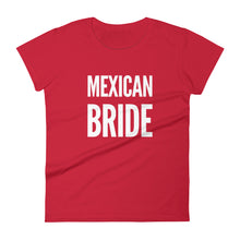 Load image into Gallery viewer, Mexican Bride Women's short sleeve t-shirt - Xóchitl Gift Shop