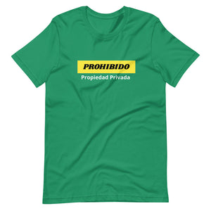 Prohibido Short-Sleeve Unisex T-Shirt