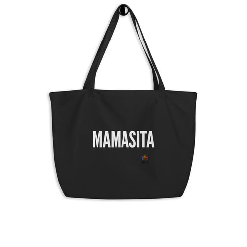 Mamasita Large organic tote bag - Xóchitl Gift Shop