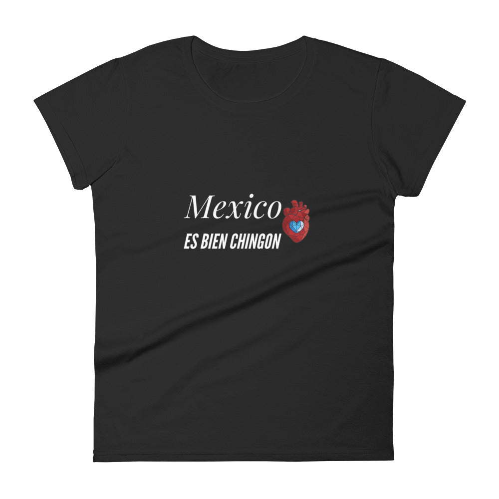Mex es bien chignon Women's short sleeve t-shirt