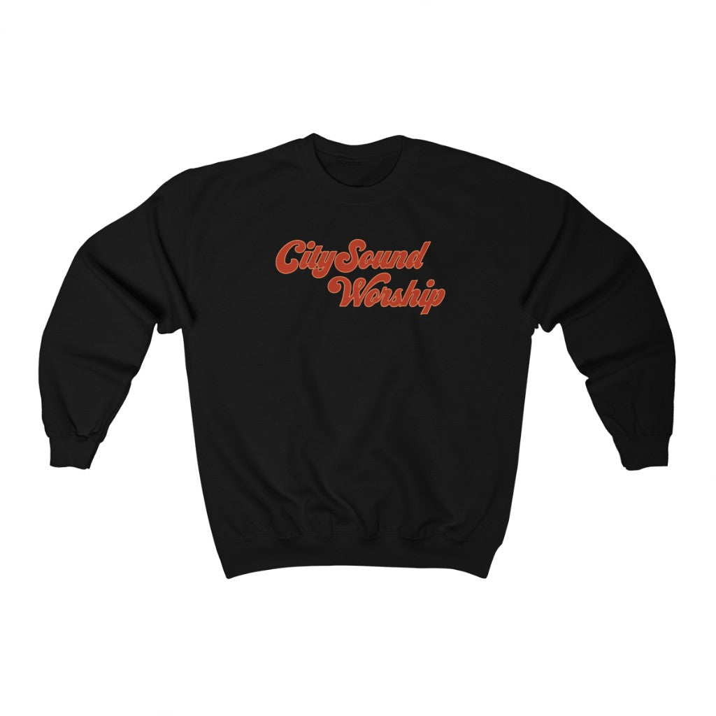 CitySound Red & Black Sweatshirt