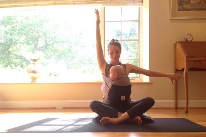 Babywearing and Exercise – keeping our babies close while getting fit!