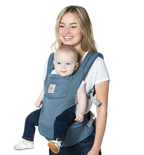Load image into Gallery viewer, Ergobaby Hip Seat Baby Carrier: Cool Air Mesh - Oxford Blue
