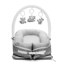 Load image into Gallery viewer, DockATot Deluxe+ Baby Nest - Signature Grey