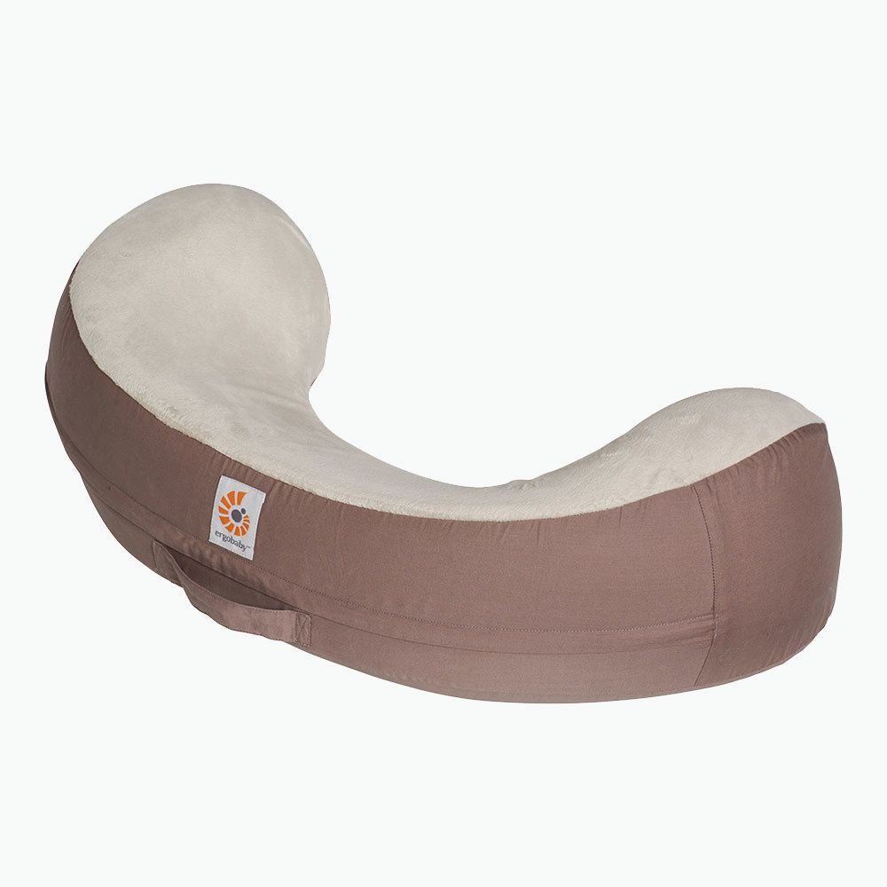 Ergobaby Natural Curve Nursing Pillow: Brown